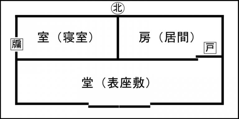 論語 中国家屋