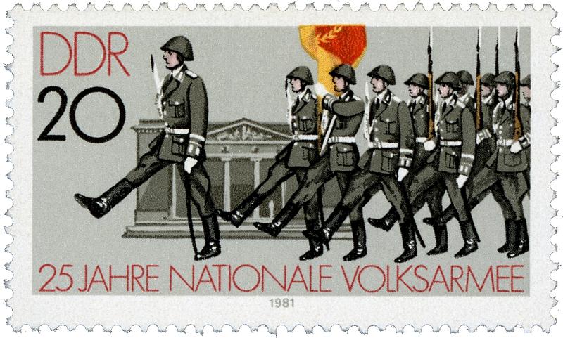 論語 軍事パレード 東独 東ドイツ
