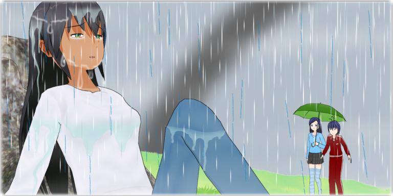 「雨か…。」