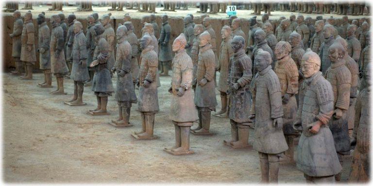 兵馬俑 秦漢帝国
